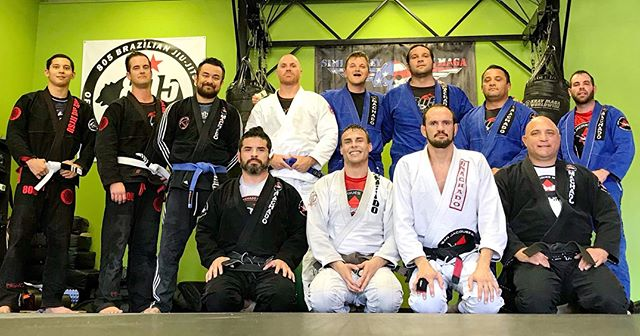 Amazing academy visit today as we visited @805jiujitsu! Although all the academies that we visit are special to us, it helps that A) This a @jeanjacquesmachado affiliate (We don't play favorites with academy instructors 🙄) B) They allowed @joeyhauss to show some of his wrestling techniques and C) In the house instructing, was not 1, not 2, but 3 Jean Jacques Machado Black Belts, @greghamiltonbjj, @sr.christian.medina , and Mark Mirleles. Thanks again for having us guys! We will be back!! (We will be posting their full responses on our facebook page) #bjj #jiujitsu #academyvisits #dojostorm #wrestling #grappling #lapd #usmc #subonly #blackbelt #jeanjacques