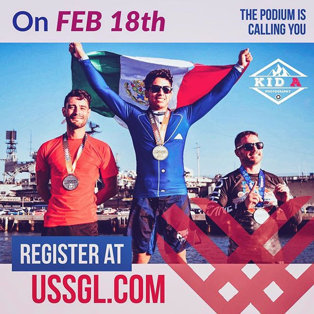 The podium is calling you.  Register at USSGL.com