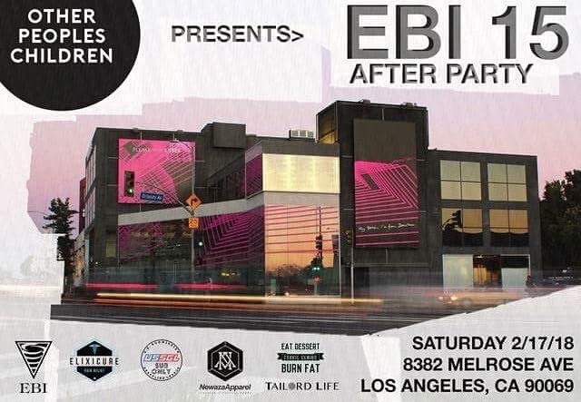 Going to EBI Tomorrow?  Come hang out with us at the afterparty!!!🎉🎊🎈#ebi15 #afterparty #eddiebravoinvitational #submissiononly #jiujitsu #bjj #losangeles