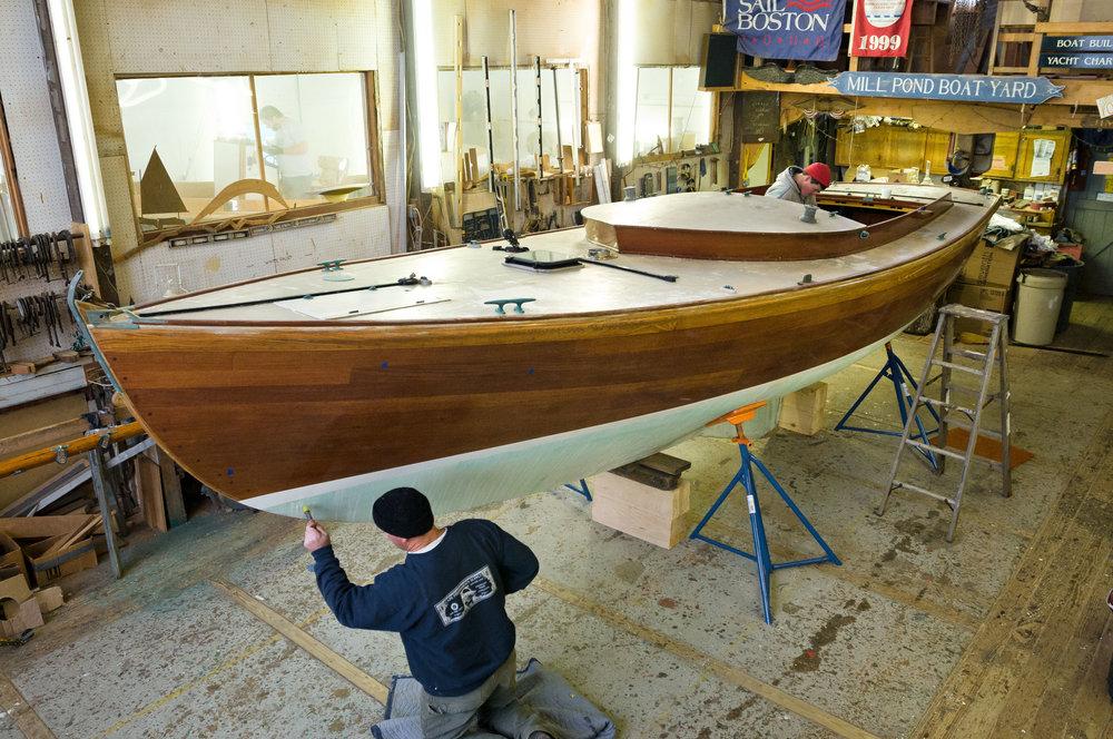 Dayenu - 1979 Sanford Boat Co. - Alerion Class Sloop