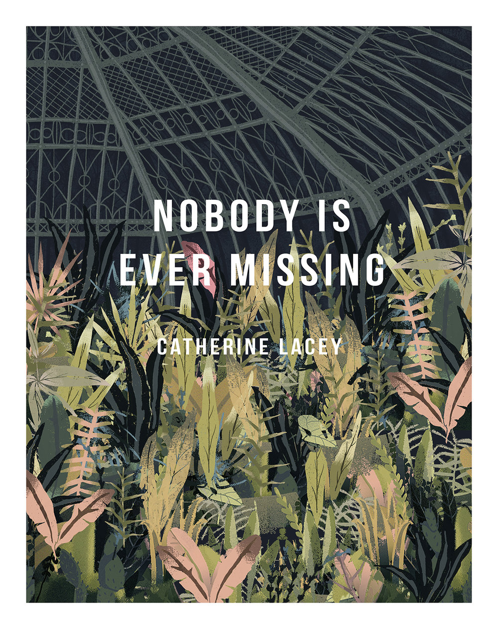 "Redesign Book Cover For Catherine Lacey's ""Nobody Is Ever Missing"""