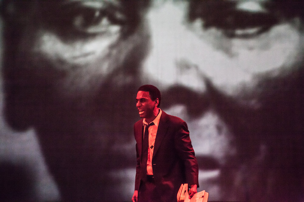 """""""POWER!""""Stokely Carmichael , presented by Meshaun Labrone, Capital Fringe Festival, 2015"""