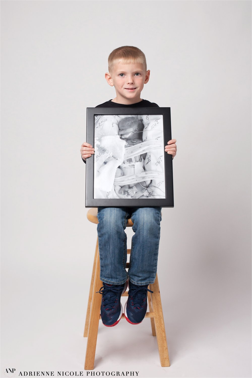Jonah 6 years old, born at 31 weeks, 3 lbs 6oz, spent 5 weeks in St. Vincent NICU.
