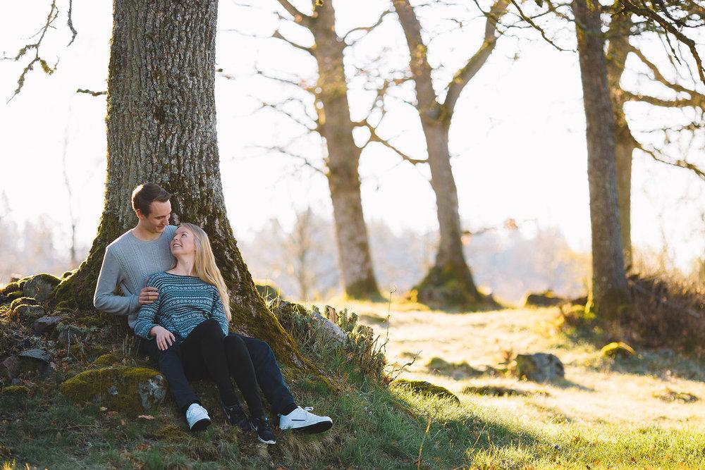 Hanna & Mattias Förlovning