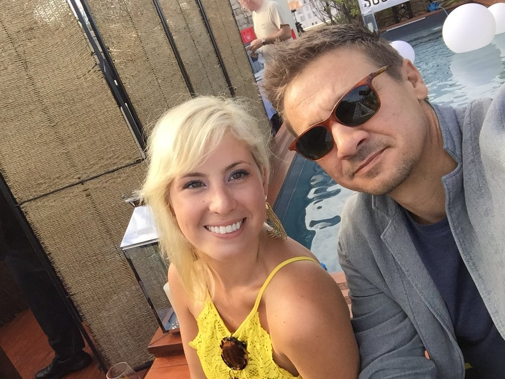 In Cannes with Jeremy Renner another WHOSAY friend and favorite