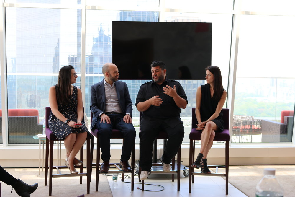 Flynn, Galant, Kontonis and Thorpe discuss influencer marketing's latest trends at The CMO Summit presented by Sysomos