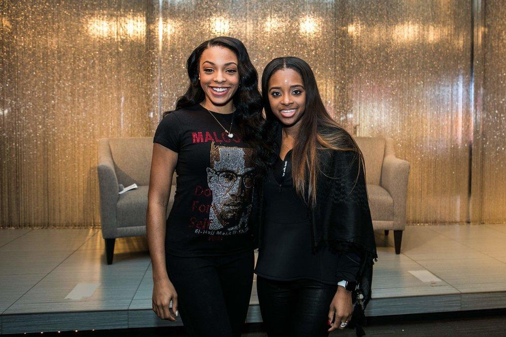 Jamila & Tamika inspired us all at Viacom