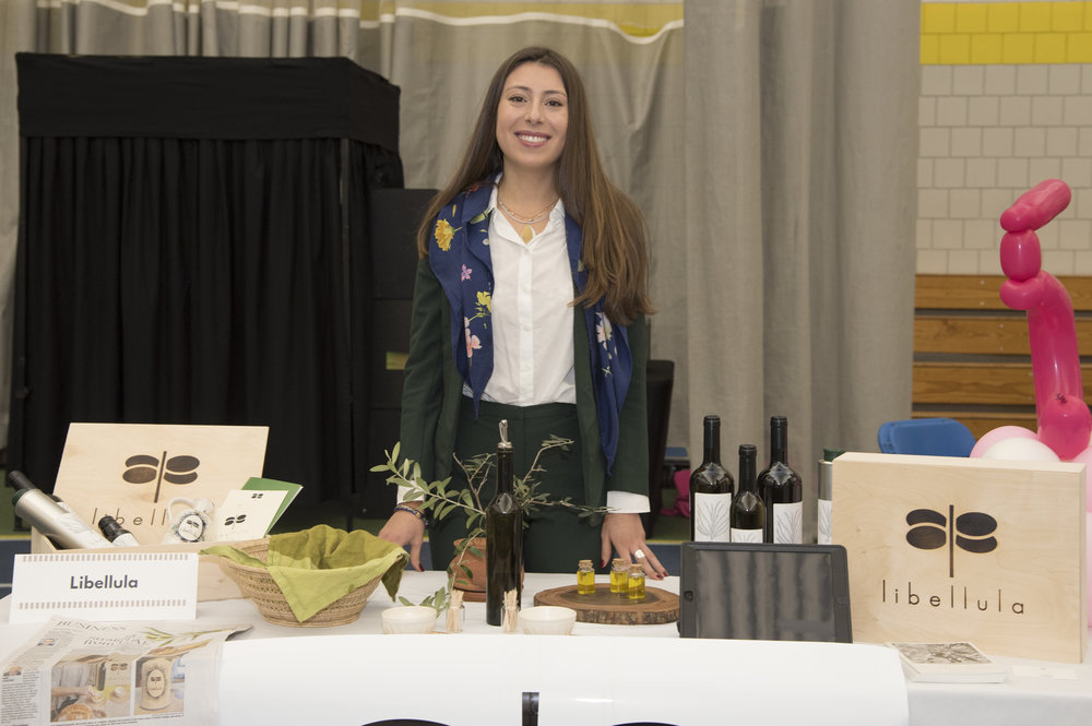 Julia exhibited her venture idea and won 1st Place in the 2016 Draper Competition.