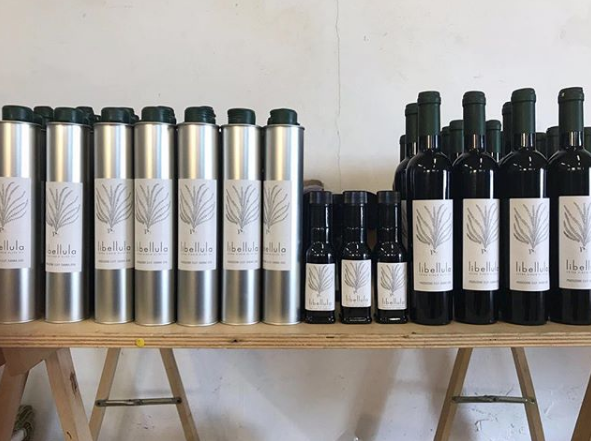 From the tree to the the bottle: Libellula takes freshly harvested olives in turns them into olive oil.