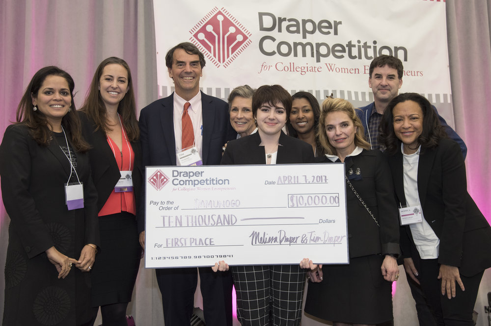 Emily Morris '19 - Draper Winner & Founder of ImmunoGo