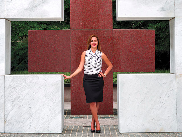 Yenisleidy Simon '13 - Intern with the International Humanitarian Law unit at the American Red Cross