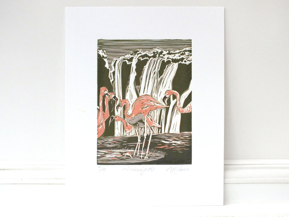 Flamingo lino #5 complete.jpg