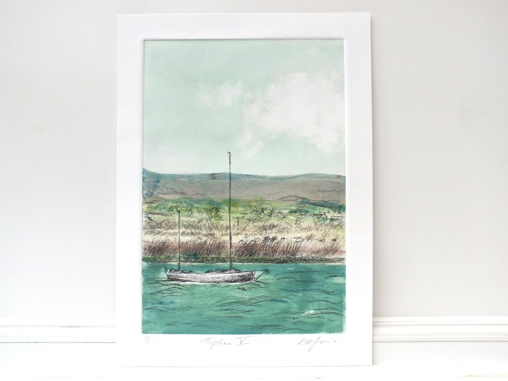 painting and pictures of boats in topsham