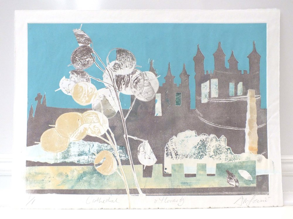 Exeter CATHEDRAL painting