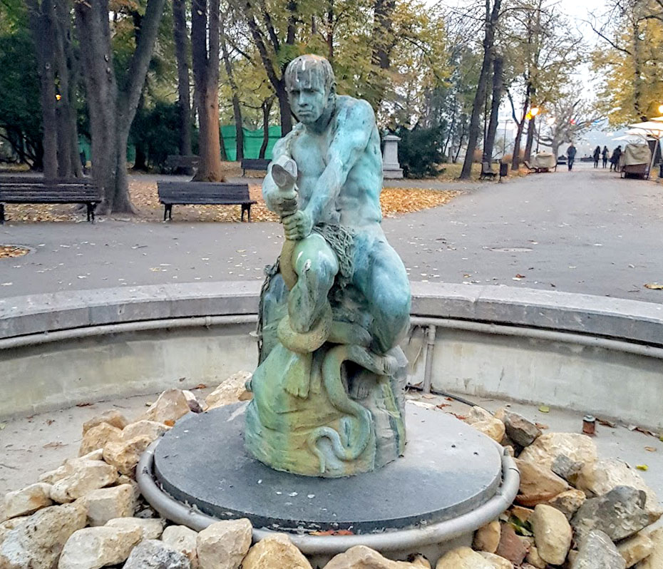 Fontana Borba, Kalamegdan Park