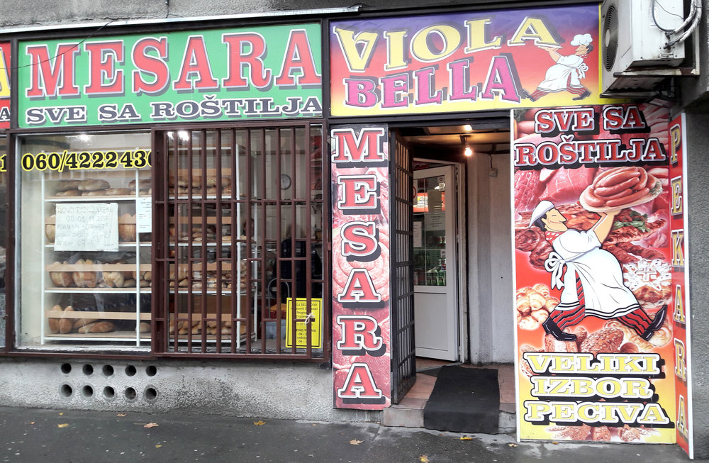 Local 'mesara', (butcher)