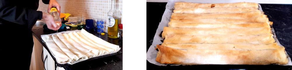 'Pita sa pečurkama', mushroom pie