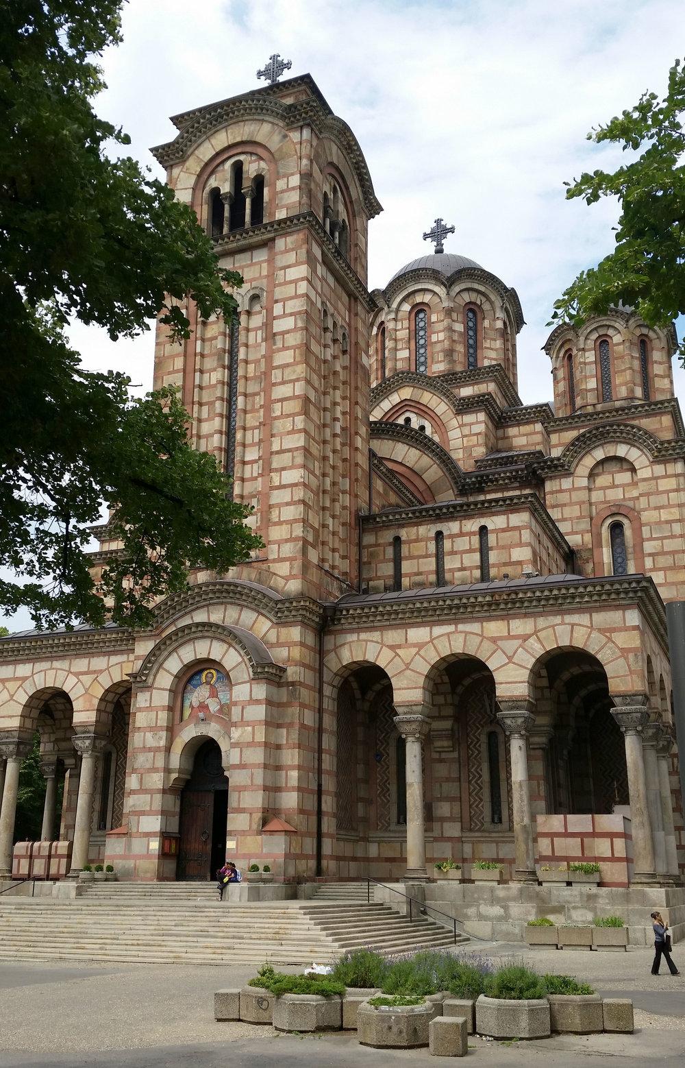 Crkva Svetog Marka (St Mark's Church), Tašmajdan Park