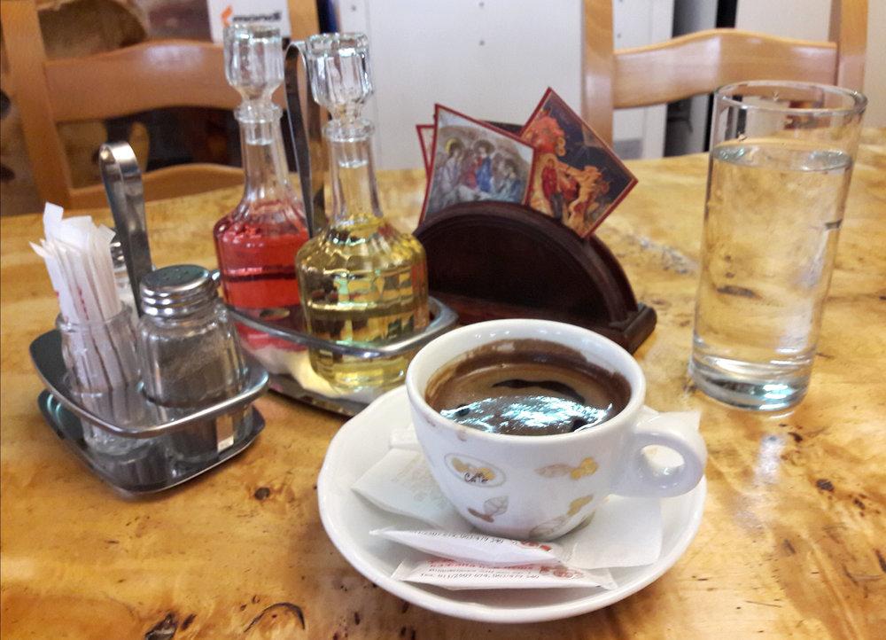 Domača kafa (Serbian coffee)