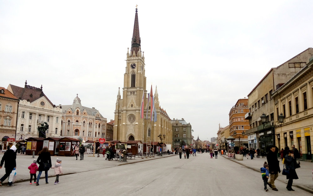 Novi Sad's Catholic Cathedral