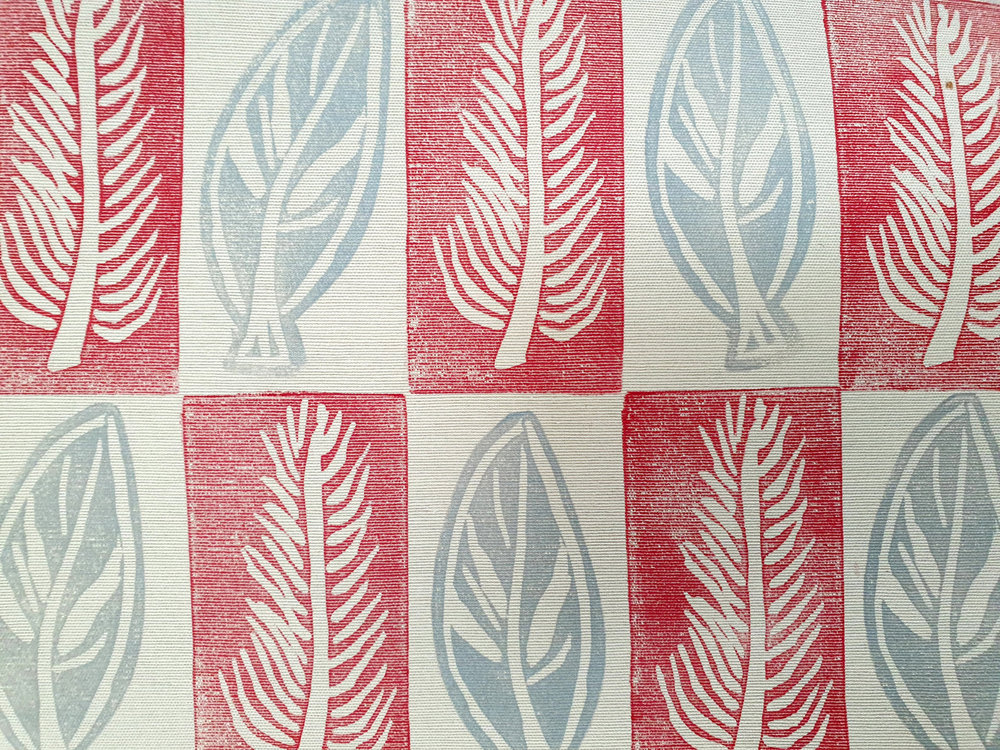 Leaf Red & Grey Fabric.jpg