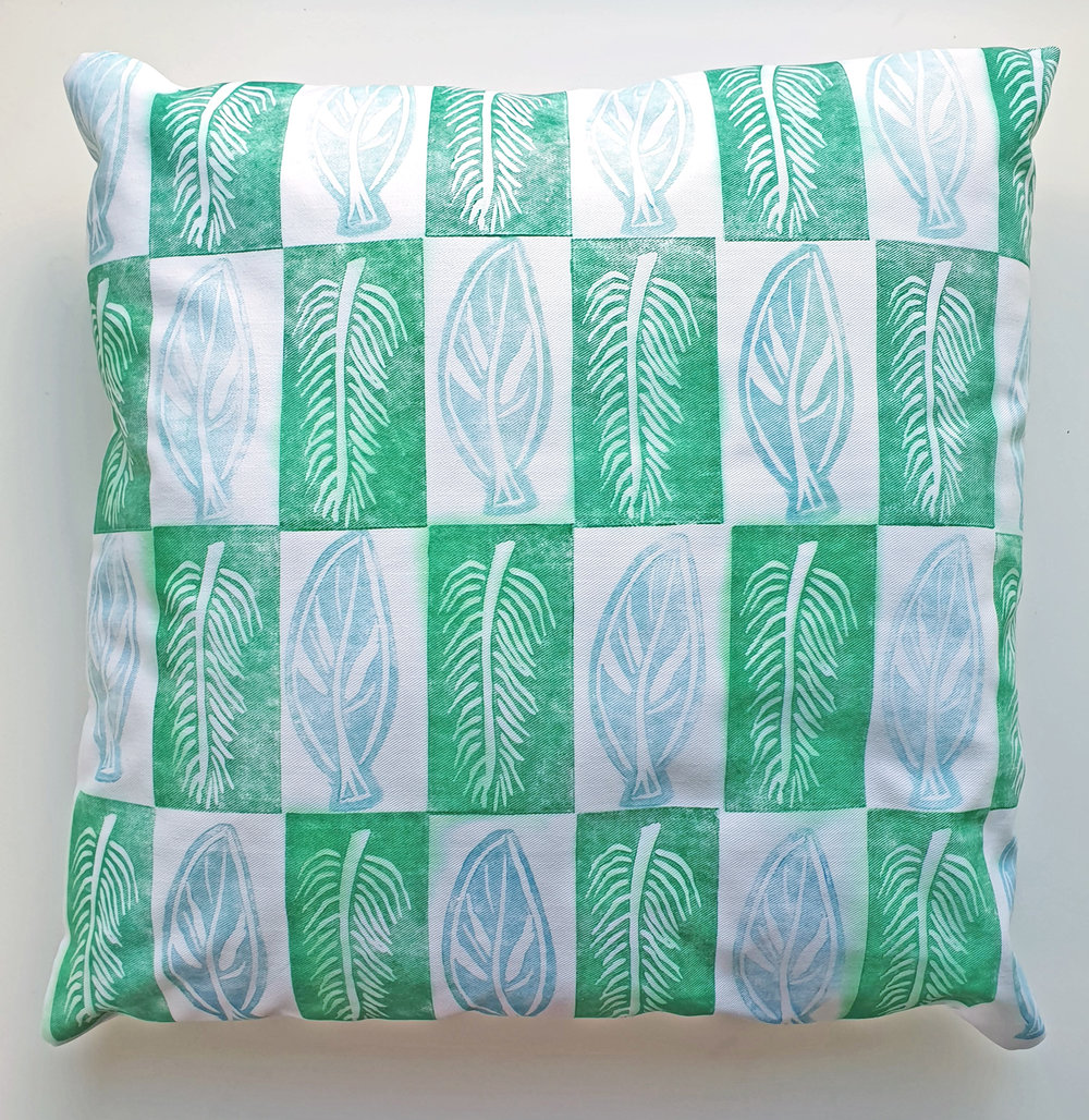 Green Leaf Cushion.jpg