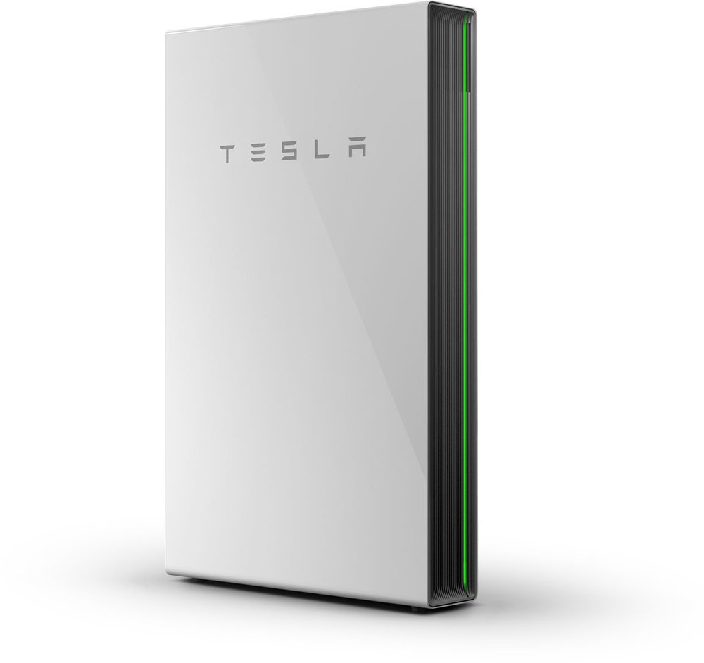 Store your clean energy needs with the Tesla Powerwall home battery.