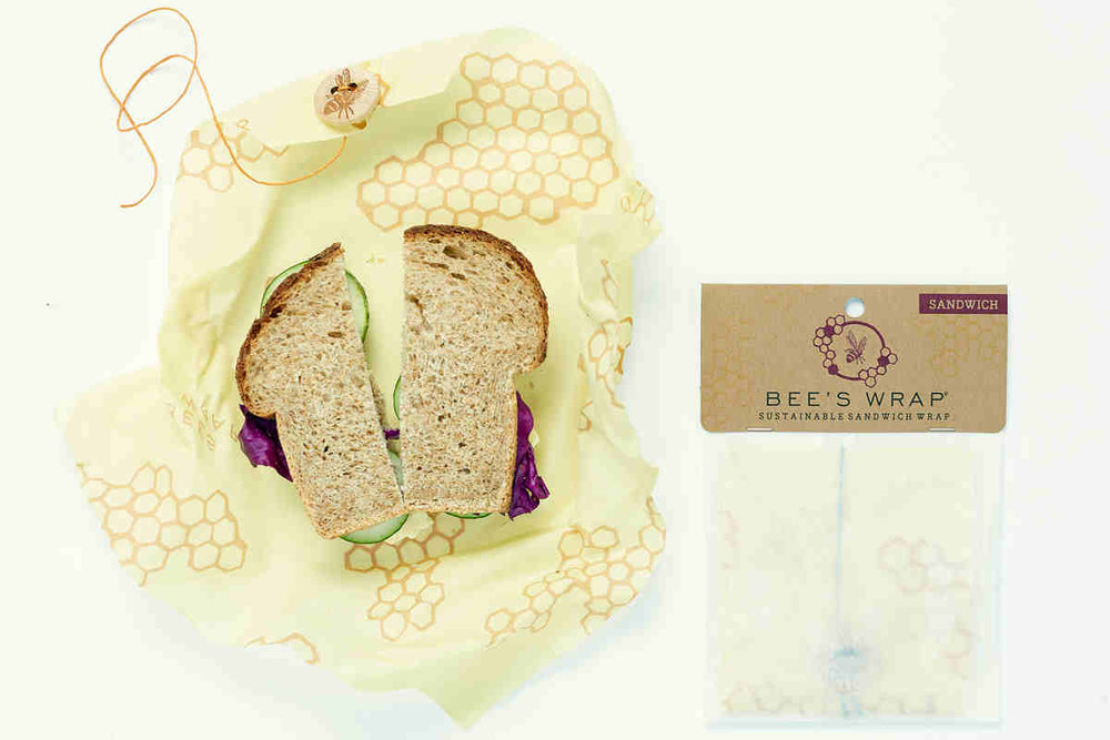 Bee's Wrap eco-friendly reusable food wraps, take sustainable and plastic free to a whole new level.
