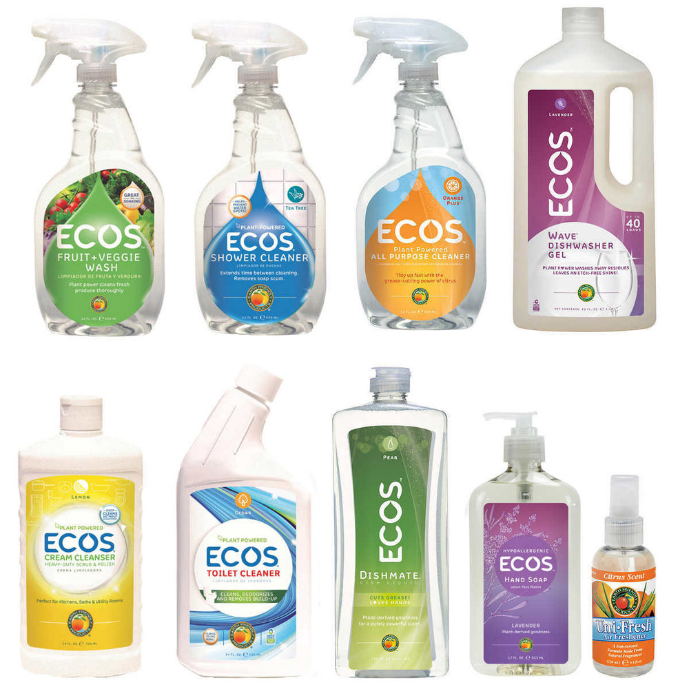 Powered by 100% renewable energy & made in the USA. ECOS is Zero Waste Platinum Certified.