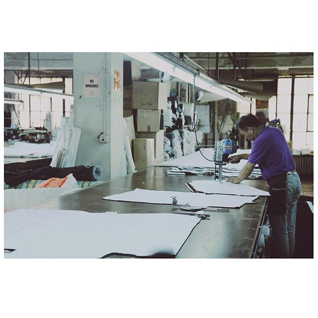 Made In Manhattan - All of our fabrics and garments are selected, designed and handmade at our factories located in New York City. The close proximity to our factories allow us complete oversight for best quality control on all our pieces. It is especially advantageous when filling made-to-measure Special Orders for our clients with time constraints.