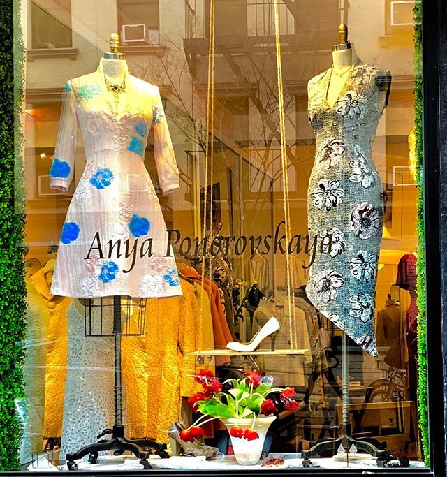 Anya Ponorovskaya's atelier-boutique. Come see where the magic happens. #anyaponorovskaya #fashion #fashiondesigner #fashionista #designer #couture #couturefashion #style #elegant #sophisticated #nyc #madeinamerica #styleblogger #fashionblogger #fashionblog #ladyboss #love #bosslady #womeninbusiness #corporatefashion #businesswoman #classicstyle #lawyerstyle #lawyerfashion #workwear #officestyle #officewear #officefashion #dress#coat