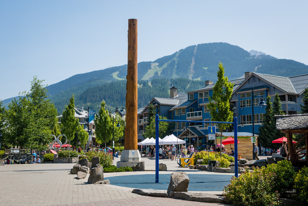 Whistler village playground at Olympic plaza - Home of the 2010 Winter Olympic medals ceremonies, Whistler's Olympic Plaza has become a vibrant home for events and family fun. In true Whistler fashion, the playground in the plaza looks like a giant tree house straight out of your kids' imagination. For the parents there are two great coffee shops next door, so you can sip a relaxing cup of coffee while your kids wear off some energy. Make sure to also take advantage of the large grass lawn for a family picnic, or to catch one of the many evening concerts.