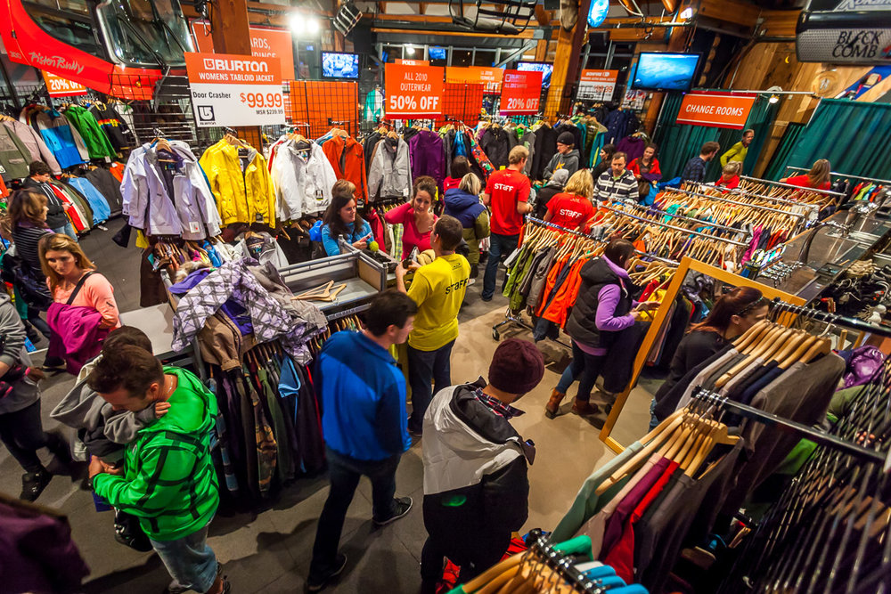 Turkey Sale - Winter is just around the corner, so it's time to take advantage of great deals on ski and snowboard gear. You can visit the main Turkey Sale held by Whistler Blackcomb, or wander the stroll for the amazing deals at all of the ski shops.