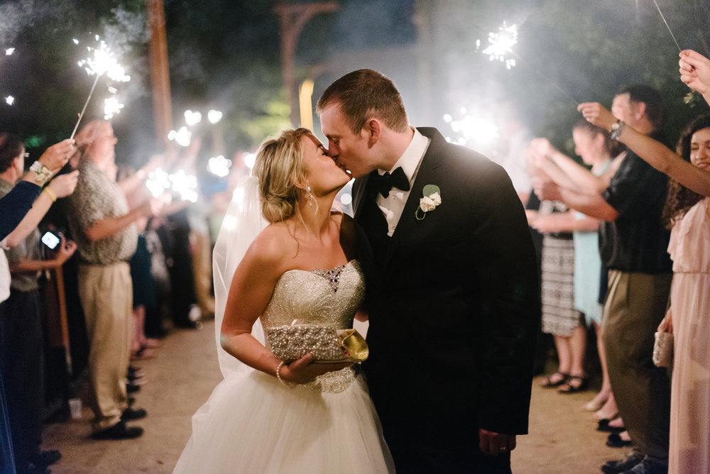 Chula vista resort wedding, sparkler exit destination wisconsin wedding, wisconsin dells wedding planner