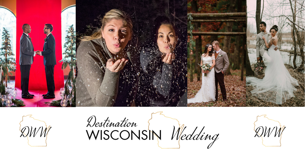 Destination Wisconsin Wedding founders Fiorella Neira and Mikayla Dhein