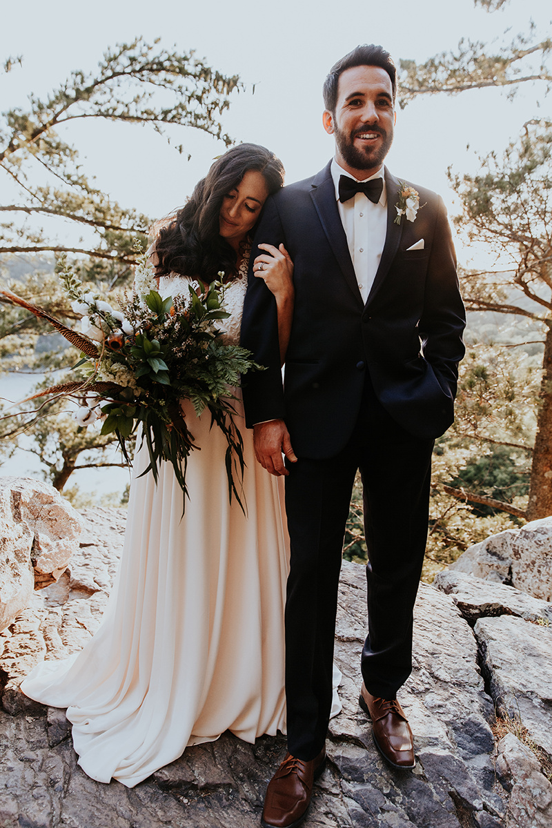 Campground Wedding by Jenna LeRoy for Destination Wisconsin Wedding Blog
