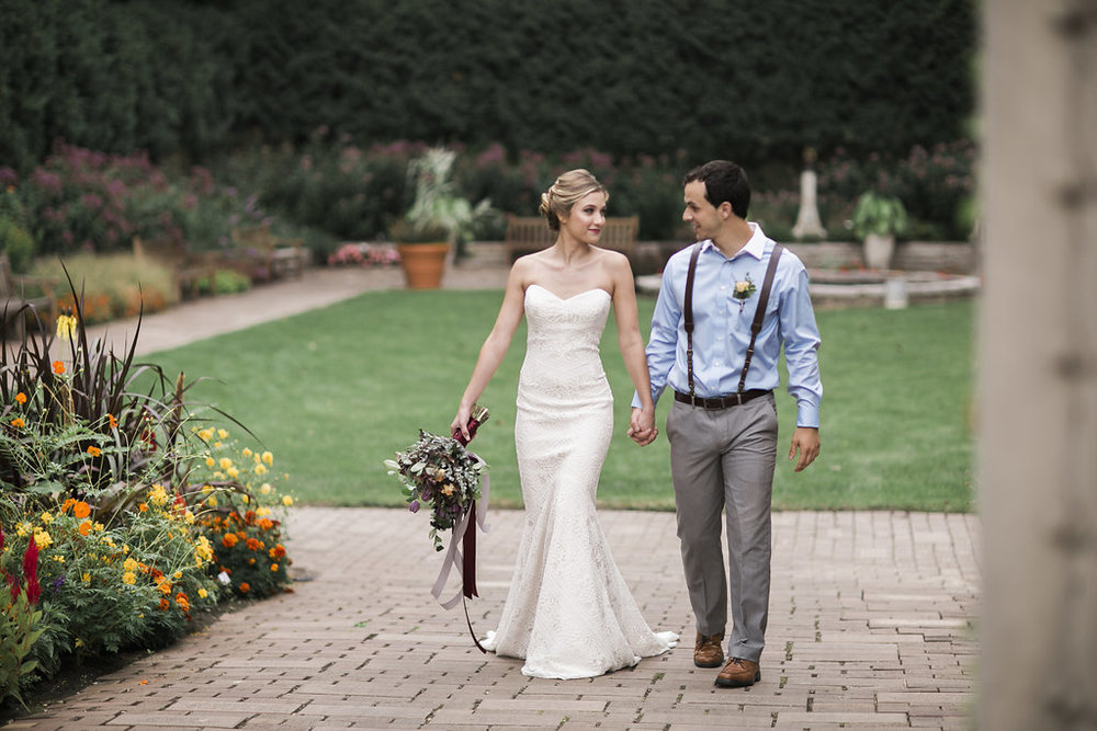 Rotary Botanical Gardens Styled Shoot by Birchwood Studios for Destination Wisconsin Weddings Blog