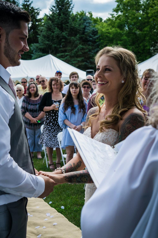 Backyard Wedding by Aili Wadlund for Destination Wisconsin Wedding blog
