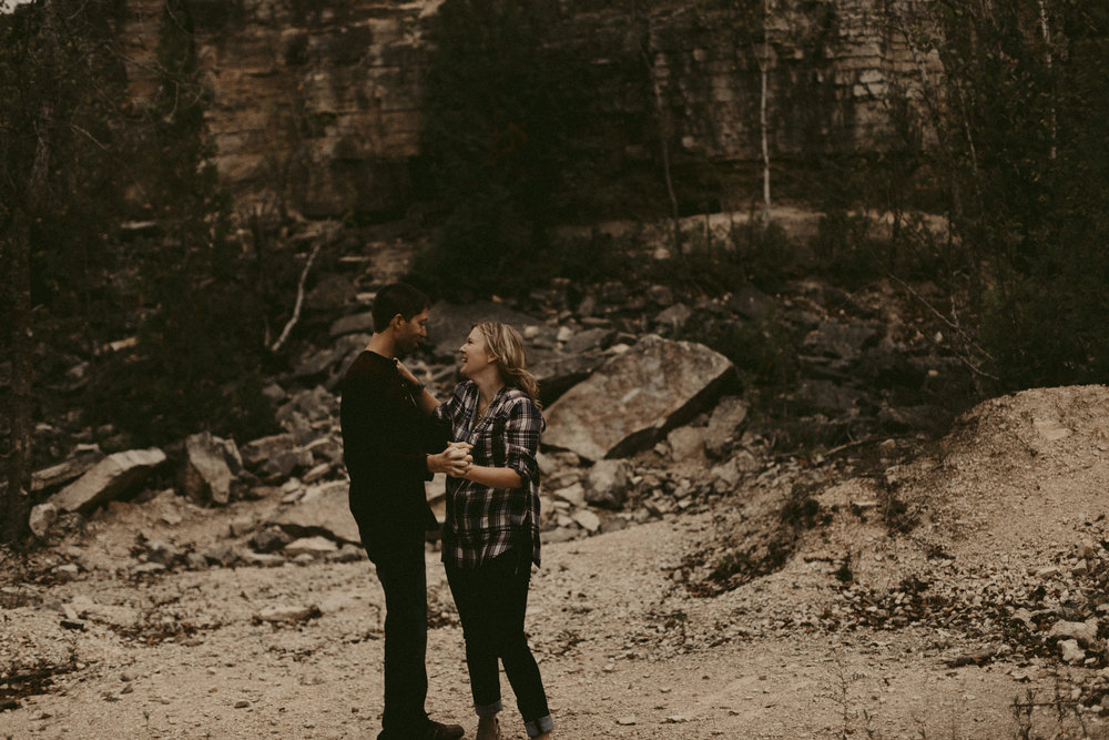 Fonferek Glen Engagement by Purely Brooke Photography for DWW Blog