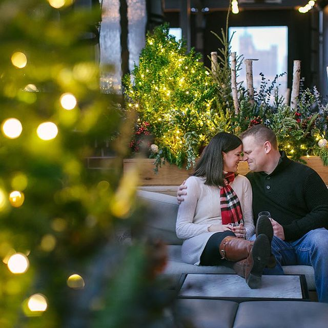 Cozy on up for this dreamy kimpton engagement  https://www.destinationwisconsinwedding.com/home/2019/2/18/cozy-kimpton-engagement  @tailoredengagements @heathercookelliott @outsiderrooftop