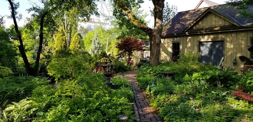 Sanger House Gardens -