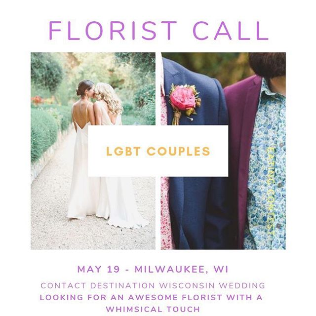 Looking for an awesome florist to work with us on an upcoming style shoot!