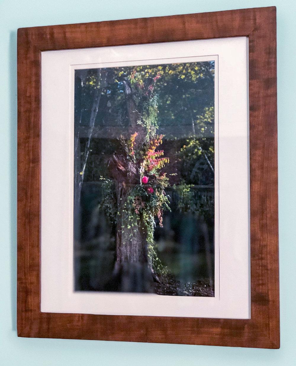 Brazilian Walnut Wedding Frame