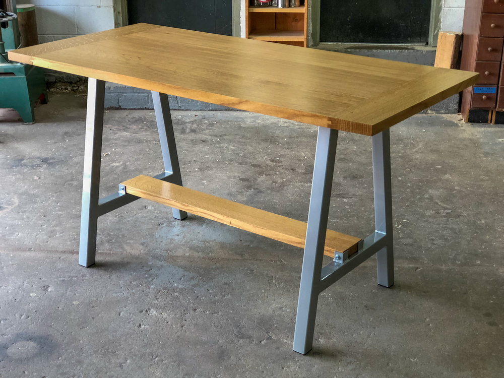 Breadboard ENd Kitchen Table