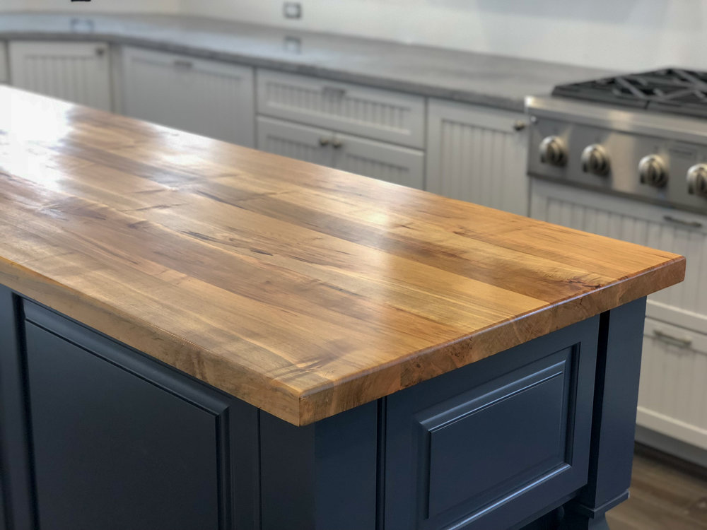 Live Edge Walnut Bar Top Hardwood Kitchen Island Live Edge Mantle Crab Point Sallie Plumley Studio Richmond Virginia Sally