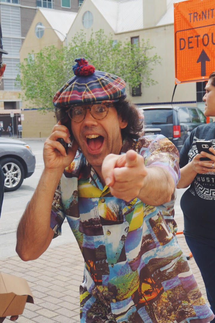 Nardwuar the Human Serviette making major moves post heart surgery.