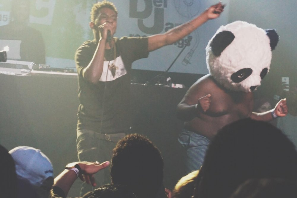 "GOOD Music's latest signee, Desiigner performing his hit song ""Panda"" at Def Jam's #BriskDX showcase."