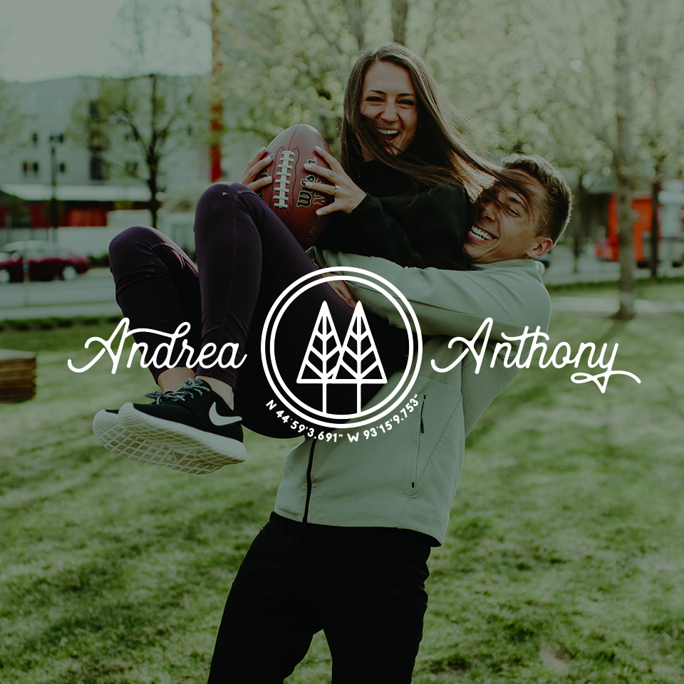 ANDREA & ANTHONY     Minneapolis, Minnesota