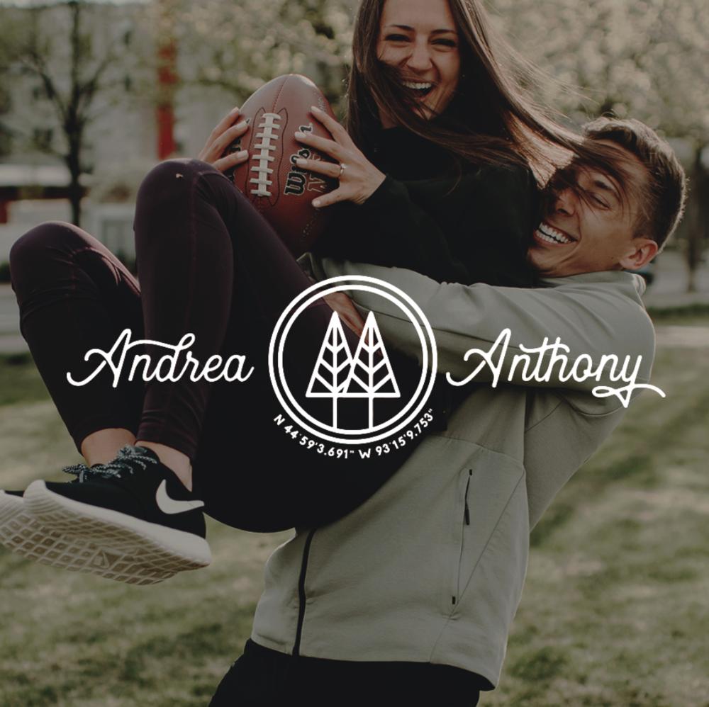 Andrea & Anthony Ostrowski   Wedding Branding | Minneapolis, MN