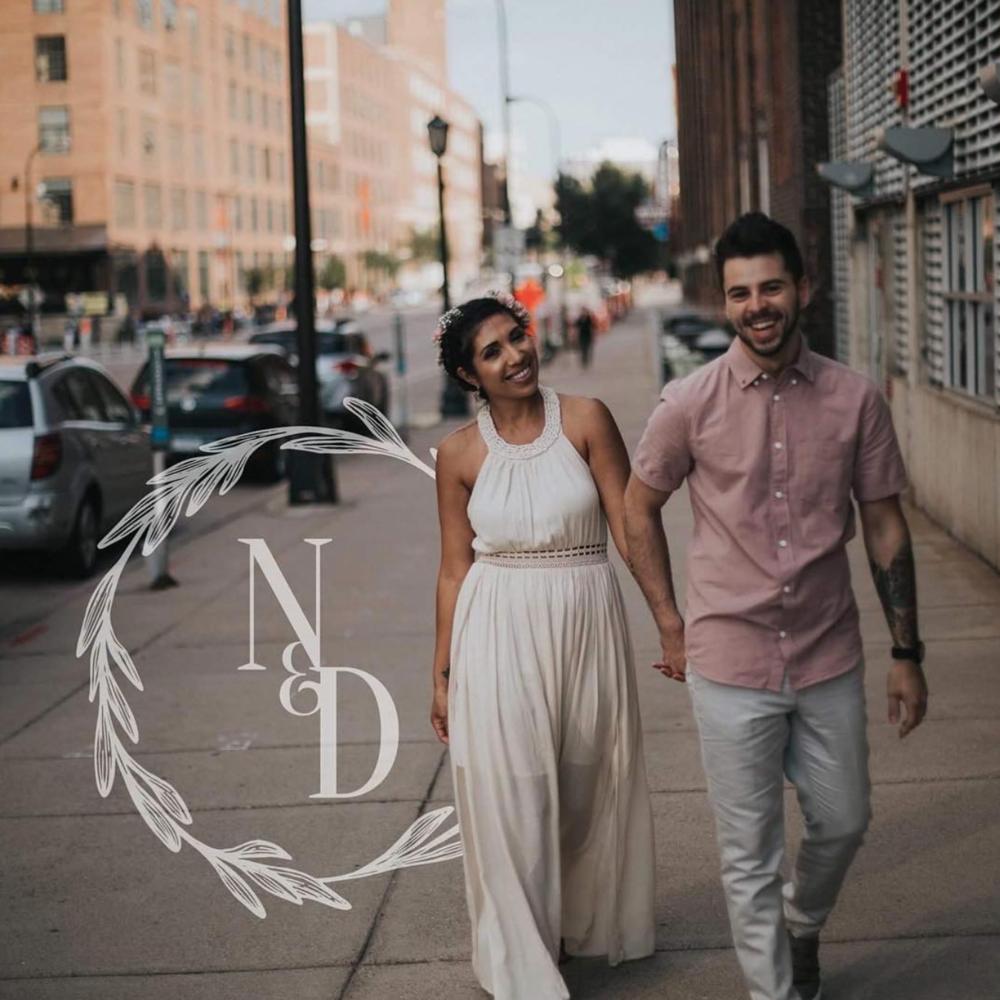 Nora & Doug Barber    Wedding Branding | Cancun, Mexico